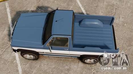 Rancher 1997 para GTA 4 vista direita