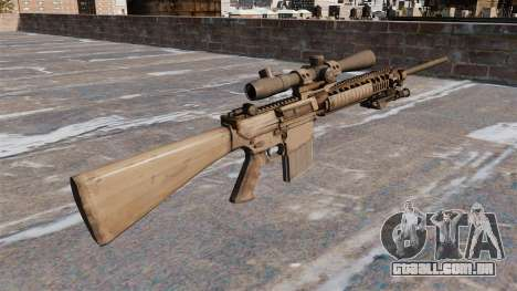 O rifle sniper M110 para GTA 4 segundo screenshot