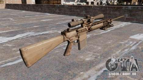 O rifle sniper M110 para GTA 4 segundo screenshot