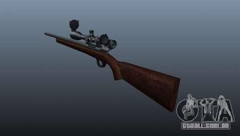 Esportes sniper fuzil Winchester Modelo 70 para GTA 4 segundo screenshot