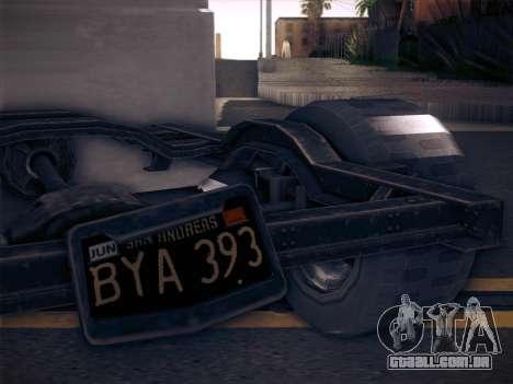 Rat Loader from GTA V para GTA San Andreas traseira esquerda vista