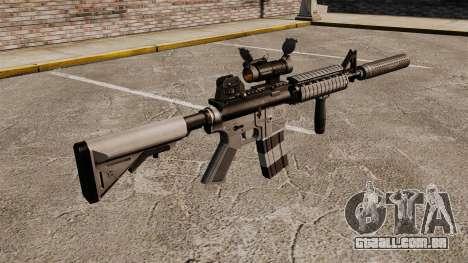 Carabina M4 com silenciador v2 para GTA 4