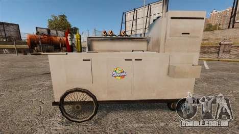 Novas texturas de carrinhos de cachorro-quente para GTA 4 sétima tela