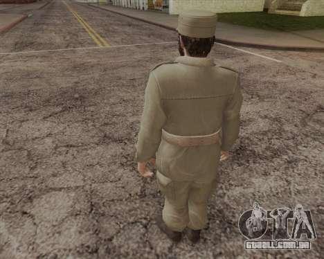 Fidel Castro para GTA San Andreas segunda tela