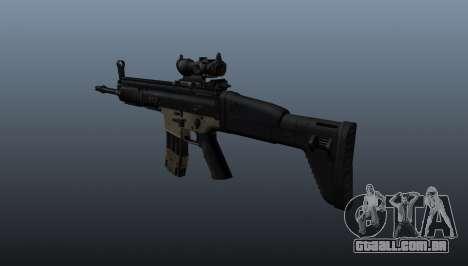 Automático FN SCAR-L para GTA 4 segundo screenshot