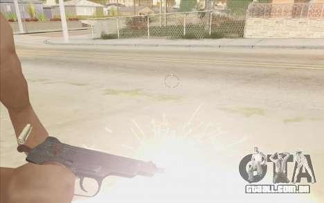 Beretta M9 v2 para GTA San Andreas segunda tela