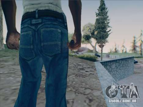 Battlefield 2142 Knife para GTA San Andreas terceira tela