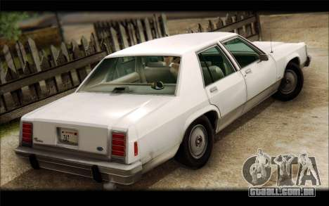 Ford LTD Crown Victoria 1987 para GTA San Andreas esquerda vista