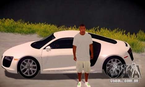 Franklin HD para GTA San Andreas quinto tela