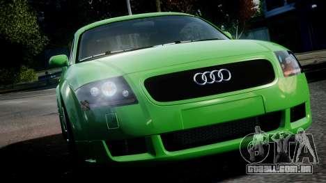 Audi TT Coupe 3.2 Quattro 2004 para GTA 4