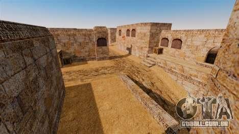 Localização de Counter-strike De_Dust2 para GTA 4 oitavo tela
