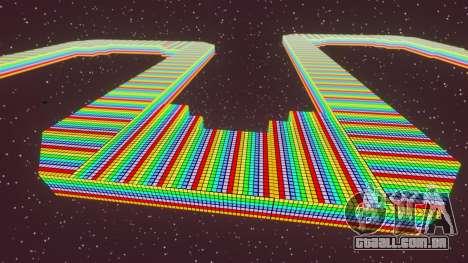 Estrada do arco-íris para GTA 4 terceira tela