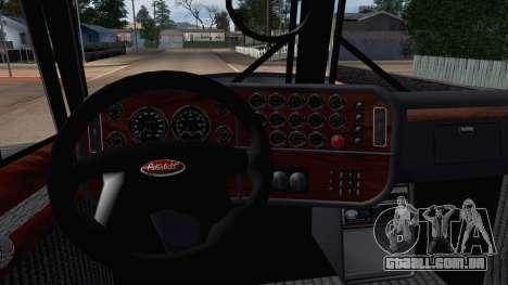 Peterbilt 379 Papa Clyde para GTA San Andreas vista direita