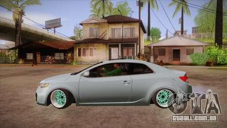Kia Cerato para GTA San Andreas esquerda vista