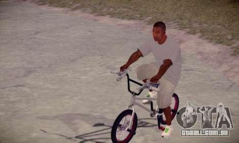 Franklin HD para GTA San Andreas segunda tela