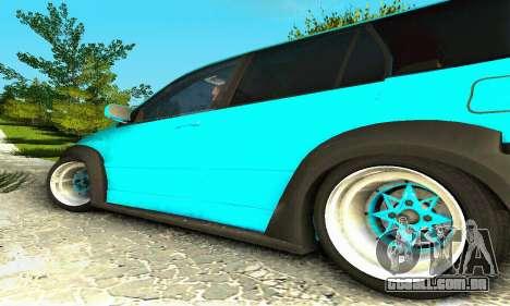 Mitsubishi Evo IX Wagon S-Tuning para GTA San Andreas traseira esquerda vista