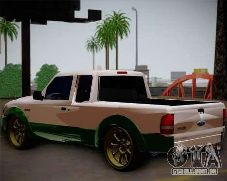 Ford Ranger 2005 para GTA San Andreas esquerda vista