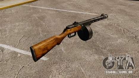 Špagina metralhadora, 1941 para GTA 4 segundo screenshot