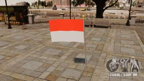 Bandeira Indonésia para GTA 4