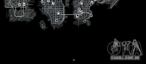 Biblioteca Point Blank para GTA 4 quinto tela