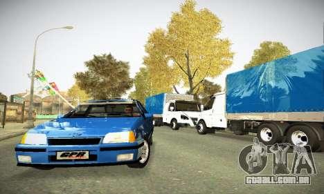 Chevrolet Kadett GS 2.0 para GTA San Andreas vista traseira