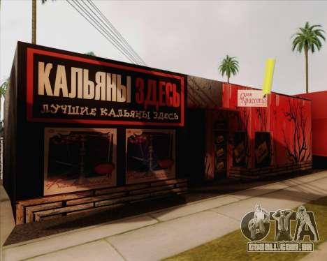 Novas texturas Binco para GTA San Andreas segunda tela