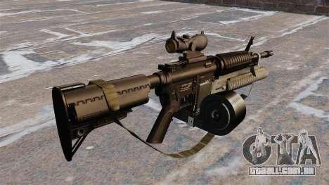 Automáticos carabina M4 C-Mag para GTA 4 segundo screenshot