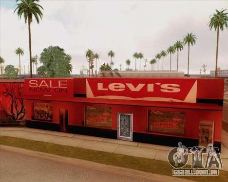 Novas texturas Binco para GTA San Andreas