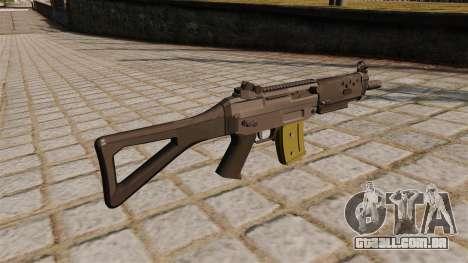 SG automática SIG 552 Commando para GTA 4 segundo screenshot