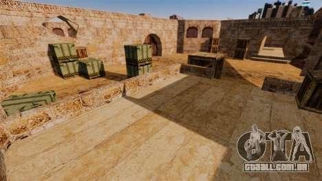 Localização de Counter-strike De_Dust2 para GTA 4 por diante tela