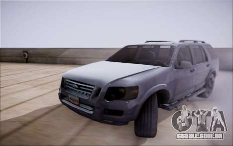 Ford Explorer Eddie Bauer 2011 para GTA San Andreas