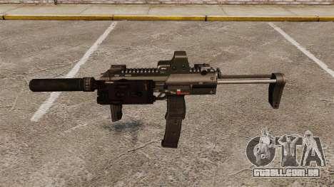 Pistola-metralhadora HK MP7 Sopmod para GTA 4 terceira tela