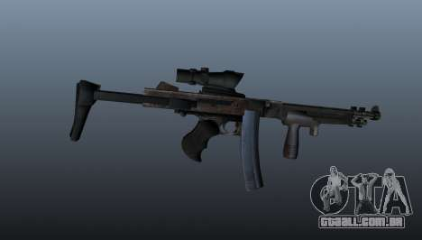 A submetralhadora Thompson 2009 para GTA 4 terceira tela
