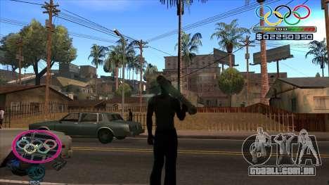 HUD Olympiade para GTA San Andreas segunda tela