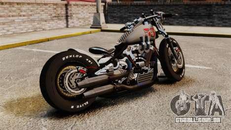 Harley-Davidson Knucklehead v1 para GTA 4 esquerda vista