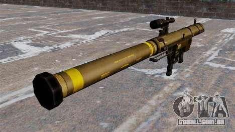 Lançador de granadas de ombro Mk153 SMAW Mod 0 para GTA 4 segundo screenshot
