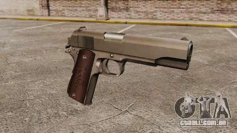 Colt M1911 pistola v5 para GTA 4