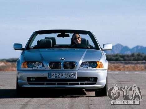 Telas de carregamento novo BMW para GTA San Andreas segunda tela