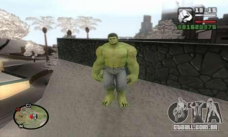 Hulk para GTA San Andreas