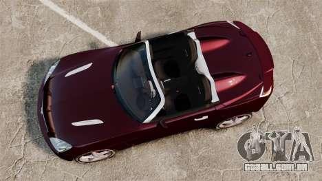 Saturn Sky Red Line Turbo para GTA 4 vista direita