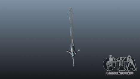 Espada da rebelião para GTA 4