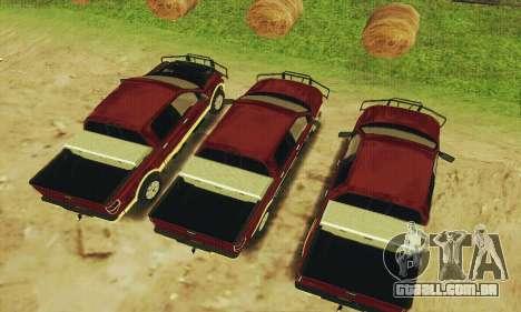 Ford F-150 KING RANCH Edition 2010 para GTA San Andreas vista interior