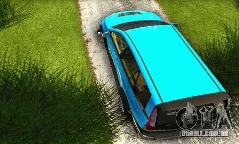 Mitsubishi Evo IX Wagon S-Tuning para GTA San Andreas vista interior