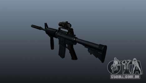 Carabina automática M4A1 Grip para GTA 4 segundo screenshot
