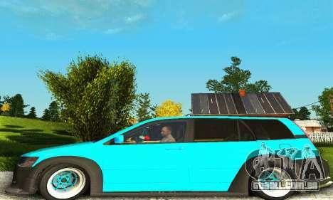 Mitsubishi Evo IX Wagon S-Tuning para GTA San Andreas vista direita