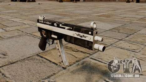 A pistola-metralhadora MP5 triturador de cabeça para GTA 4