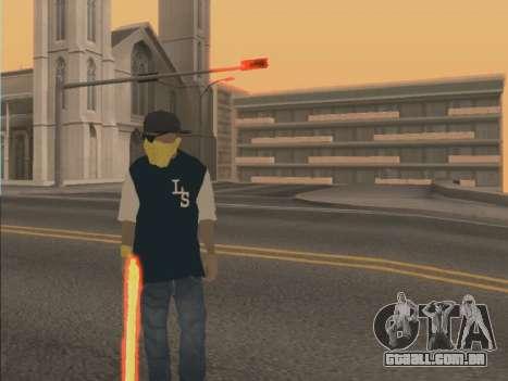 Color Mod para GTA San Andreas segunda tela