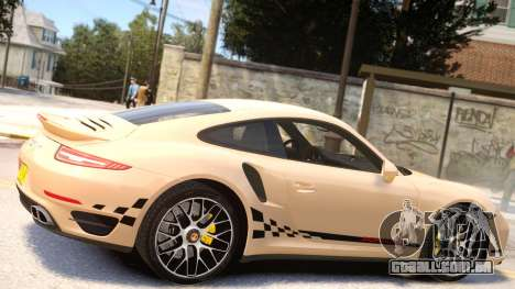 Porsche 911 Turbo 2014 [EPM] para GTA 4 vista interior