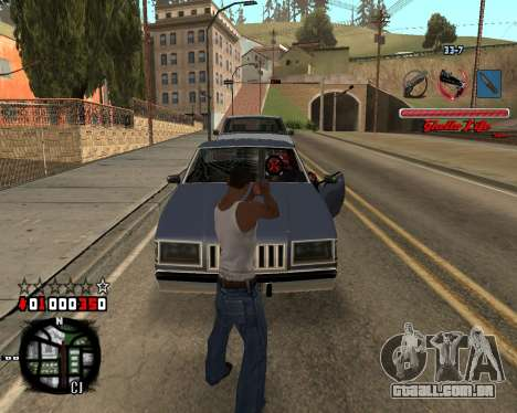 C-HUD Ghetto Live by Sanders para GTA San Andreas terceira tela