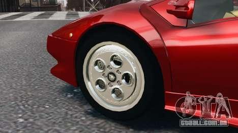 Lamborghini Diablo VT 1994 para GTA 4 esquerda vista